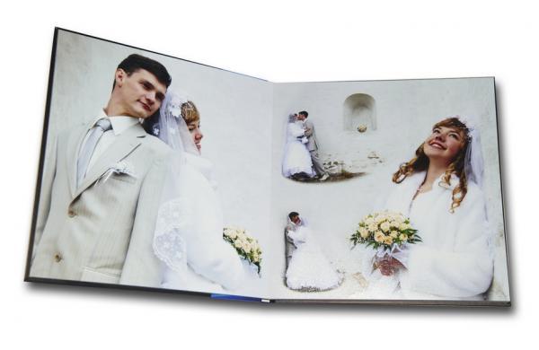 Примеры фотокнига свадебная